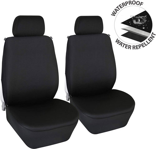 Elantrip Waterproof Neoprene Front Seat Cover Universal Fit