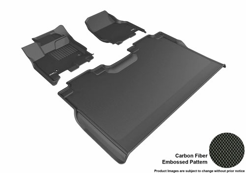 3D MAXpider L1FR08311509 Front Row Custom Fit All-Weather Floor Mat