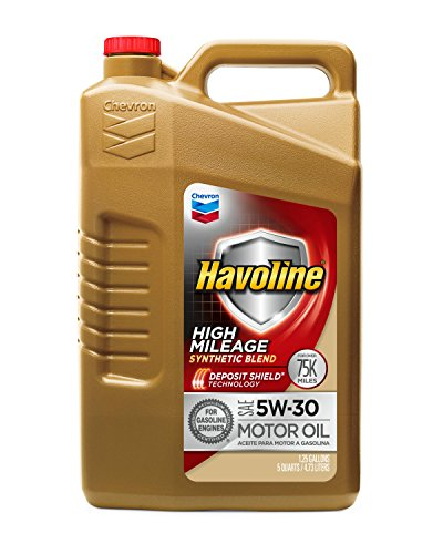 Havoline 5W30 High Mileage Synthetic Blend