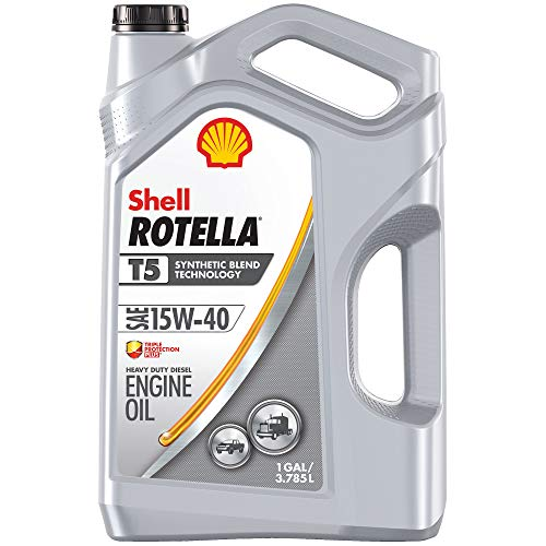 Shell Rotella T5 Synthetic Blend 15W-40 Diesel Engine Oil